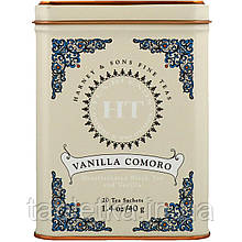Harney & Sons, HT Tea Blend, чай со вкусом коморской ванили, 20 чайных саше, 40 г (1,4 унции)