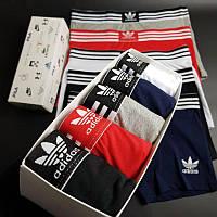 Мужское нижнее белье Adidas Набор трусов 5 штук