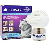Feliway (Феливей) 48мл - коректор поведінки для кішок, комплект (електричний дифузор +1 флакон)