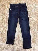Джинсові штани для хлопчиків на флісі F&D 10 років