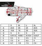 Рукавиці лижні PowerPlay 6916 Чорні S (Універсальні зимові), фото 4