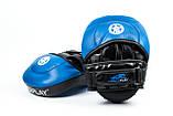 Боксерські Лапи PowerPlay 3030 Синьо-Чорні PU [пара], фото 2