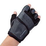 Рукавички для фітнесу PowerPlay 2229 Чорні L, фото 2