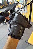 Рукавички для фітнесу PowerPlay 2229 Чорні L, фото 9
