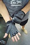 Рукавички для фітнесу PowerPlay 2229 Чорні L, фото 10