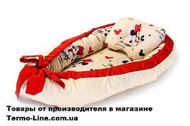Кокон гнездышко для новорожденных Мисс Мини