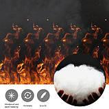 Зимовий жилет Puntos з інфрачервоним підігрівом c USB S Чорний, фото 3