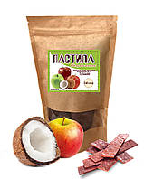 Фруктова пастила з яблук та кокосів