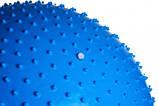 М'яч-масажер для фітнесу PowerPlay 4002 75см Синій + насос, фото 3