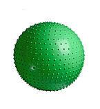 М'яч-масажер для фітнесу PowerPlay 4002 65см Зелений + насос, фото 2