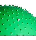 М'яч-масажер для фітнесу PowerPlay 4002 65см Зелений + насос, фото 3