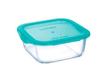 Скляний посуд для зберігання Luminarc Keepn Box квадратний 380мл