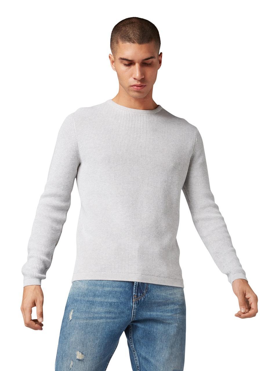 Джемпер Tom Tailor 1014412 XL Светло- серый