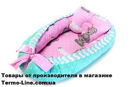 Кокон гнездышко для новорожденных Мишка