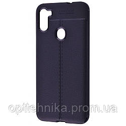 Ultimate Experience Leather (TPU) Samsung Galaxy A11/M11 (A115/M115) black