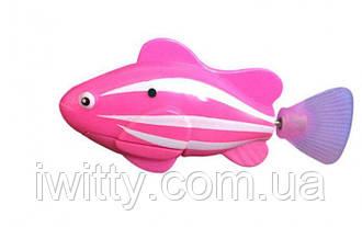 Рыбка Робот на батарейках RoboFish (Розовая)