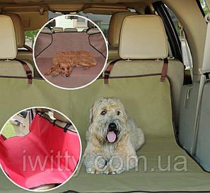 Чохол на автомобільне сидіння для домашніх тварин, Pet Zoom Loungee Auto (Чорний), фото 2