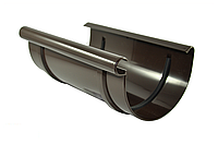 Муфта желоба BRYZA 125 мм, водосточная система BRYZA, Цвет RAL 8017 коричневый.