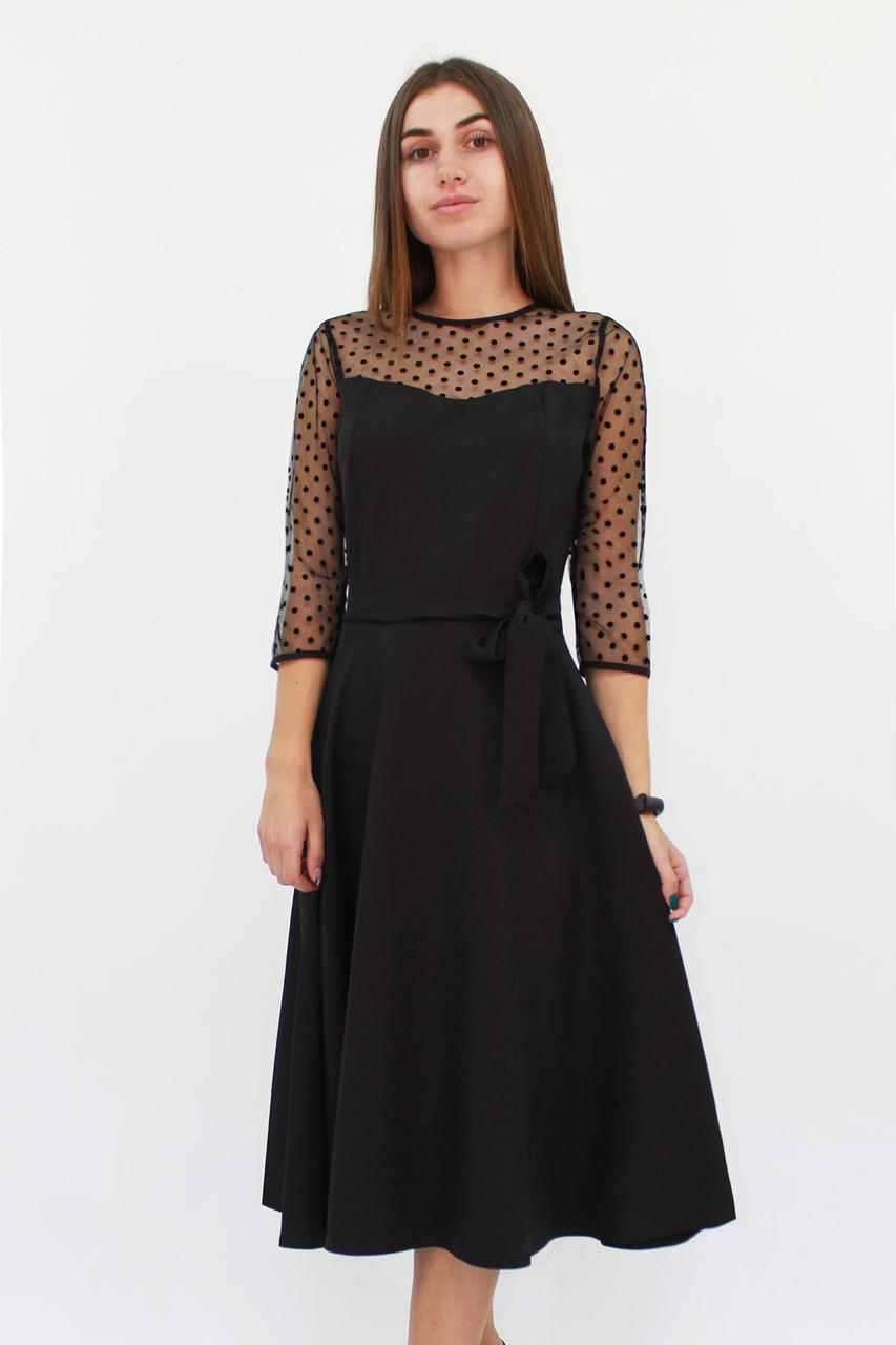 Вечернее женское платье Blade, черный