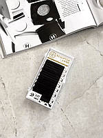 Ресницы Gold D 0.07 - 9 мм черные (Sculptor Lash) ОТД ДЛИНА