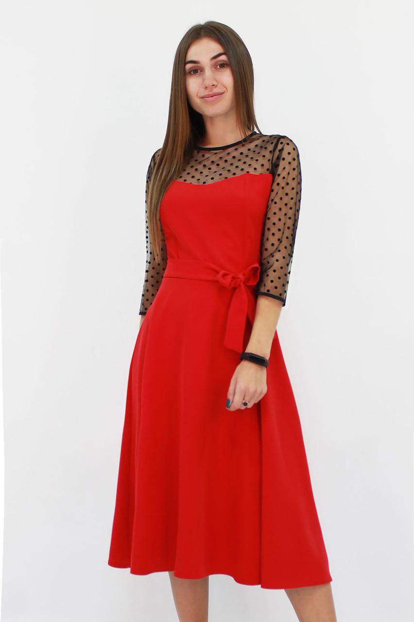 Вечернее женское платье Blade, красный