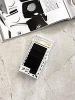 Ресницы Gold D 0.07 - 11 мм черные (Sculptor Lash) ОТД ДЛИНА