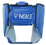 Боксерский шлем V`Noks Lotta Blue S, фото 2