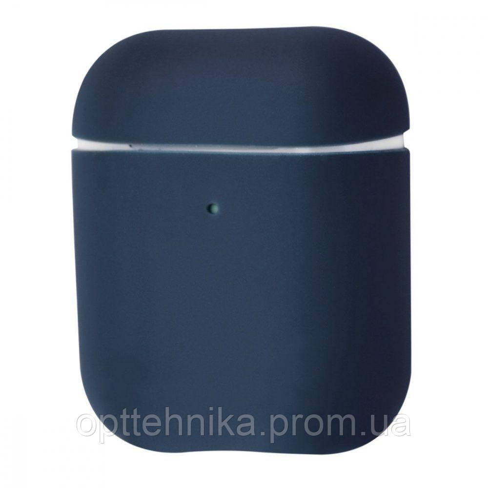 Silicone Case Ultra Slim for AirPods 2 midnight_blue