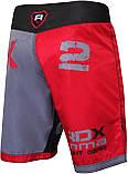Шорты MMA RDX X2 Grey 4XL, фото 5