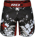 Шорты MMA RDX Multi Gray M, фото 4