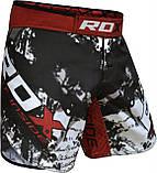 Шорты MMA RDX Multi Gray M, фото 7