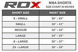 Шорты MMA RDX Multi Gray M, фото 8