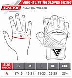Перчатки для зала RDX Pro Lift Gel XL, фото 3
