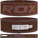Пояс для тяжелой атлетики RDX Elite XL, фото 6