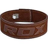 Пояс для тяжелой атлетики RDX Elite XL, фото 10