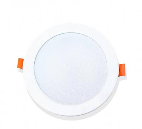 Светильник светодиодный встраиваемый ЕВРОСВЕТ PLAIN-9R 9Вт 6400К (000041062), фото 2