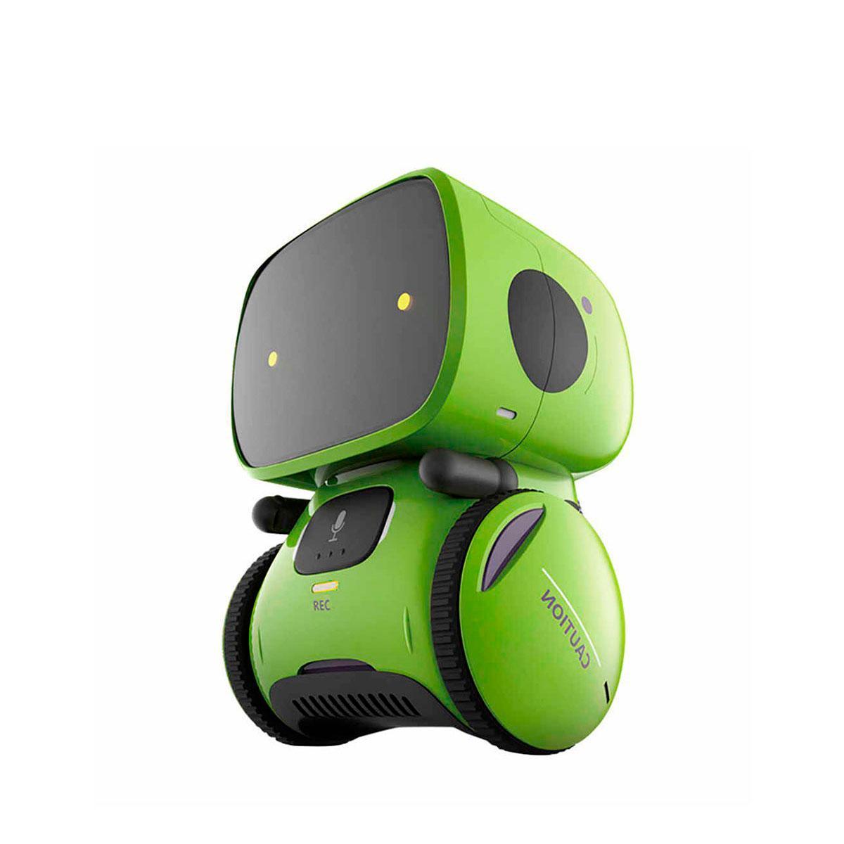 Робот с голосовым управлением – AT-Rоbot (зелён., укр.) AT001-02-UKR