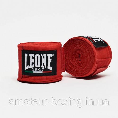 Бинты боксерские Leone Red 4,5м