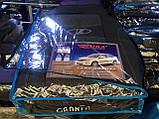 Чохли LADA GRANTA sedan 5 підголовників 2011р з/сп закр тил;цельн;airbag Nikа, фото 2