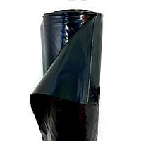 Пленка черная, 200мкм 3м/50м. полиэтиленовая (строительная). Для фундамента, бетона (стяжки)., фото 1