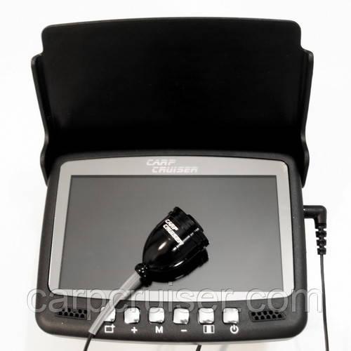 """Подводная камера для рыбалки CARP CRUISER СC4-HBS-LC с переключением подсветки 4.3"""" монитор, шнур15 м"""