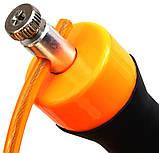 Скакалка RDX Steel Gel оранжевая, фото 2