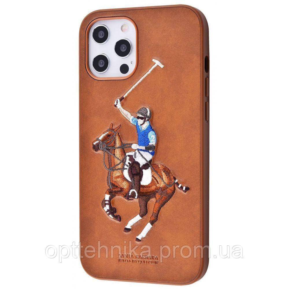 POLO Jockey (Leather) iPhone 12 Pro Max brown