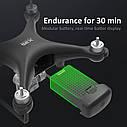 Квадрокоптер JJRC X35 Кейс Дрон с GPS 4К камера WIFI FPV 26 минут полёта, фото 2