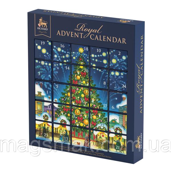 """Чай Richard """"Royal Advent Calendar"""", ассорти, 25 пирамидок"""