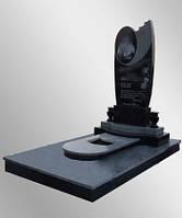 Изготовить черный гранитный памятник в Луцке, фото 1