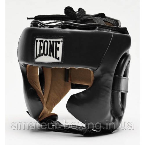 Боксерский шлем Leone Training Black M