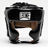 Боксерский шлем Leone Training Black M, фото 3