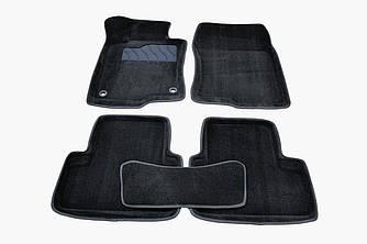Коврики в салон 3D для Honda Accord VIII 2008-2012 /Черные 5шт 86294