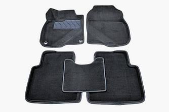 Коврики в салон 3D для Honda CR-V 2016- /Черные 5шт 89230